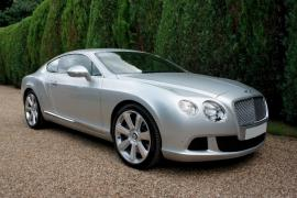 Bentley Continental GT facelift model